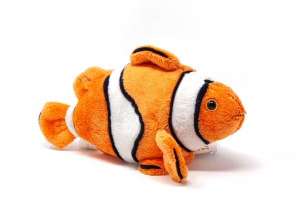 Kuscheltier - Clownfisch - 19 cm