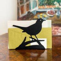 Briefständer Amsel