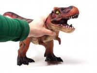 Dinosaurier Spielfigur - Tyrannosaurus Rex orange - 63 cm