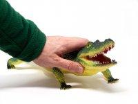 Tier-Spielfigur - Krokodil - 58 cm