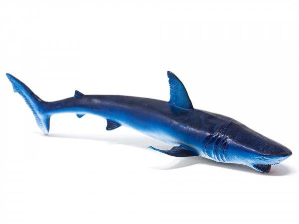 Tier-Spielfigur - Hai blau - 36 cm