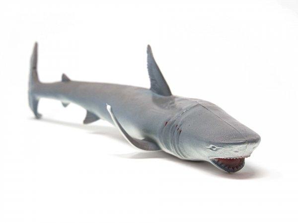 Tier-Spielfigur - Hai weiss - 36 cm