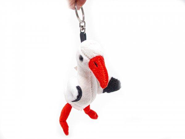 Plüsch Schlüsselanhänger - Storch