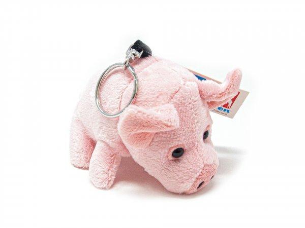 Plüsch Schlüsselanhänger - Schwein