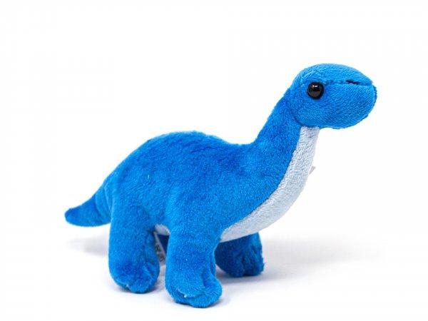 Kuscheltier - Brachiosaurus blau - 19 cm