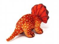 Kuscheltier - Triceratops rot - 25 cm