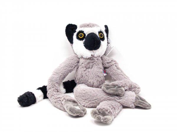 Kuscheltier - Lemur mit Kletthänden - 43 cm