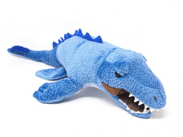 Kuscheltier - Mosasaurus blau - 44 cm